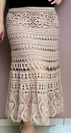 Cute and relaxed skirt