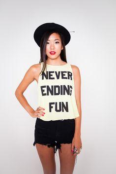 Never Ending Fun Tank