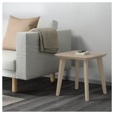 IKEA LISABO side table Easy to assemble as each leg only has one fitting.