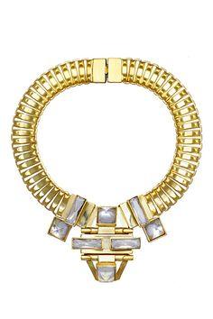 Elie Saab Gold Accessories Pre-Fall 2013