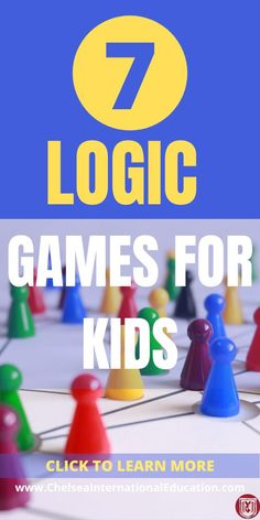 7 Logic Games For Kids