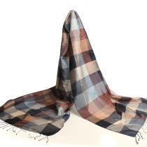 handgeweven zijden sjaals