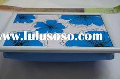 Laminated Design Plastic Frame Lap tray