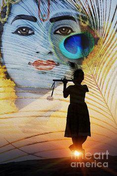 Lord Photograph - Krishna Jai by Tim Gainey Radha Krishna Quotes, Radha Krishna Pictures, Lord Krishna Images, Radha Krishna Love, Krishna Temple, Krishna Statue, Iskcon Krishna, Radhe Krishna, Shree Krishna