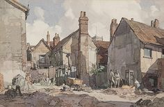 Leonard Squirrell's Scenes of East Anglia, Illustration Art Gallery Pastel Drawing, Drawing S, Led Pencils, Toned Paper, Squirrel, Watercolor Paintings, Art Gallery, Illustration Art, Sketches