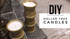DIY | Dollar Tree Candles +  TOOARTS Giveaway (Open)  Do you enjoy candles as much as I, but find them very expensive?  Why not create your own?  View this video and find out how. Posted by Fareeda at 6:46:00 AM