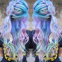 #Cotton Candy Hair