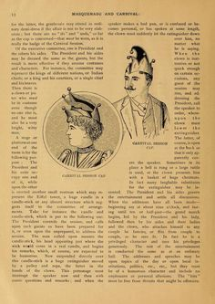 Masquerade and carnival: their customs and costumes by [Wandle, Jennie Taylor], Mrs  Published 1892