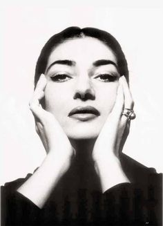 Maria Callas (1923-1977) - American-born Greek soprano and one of the most renowned and influential opera singers of the 20th century. Photo Cecil Beaton