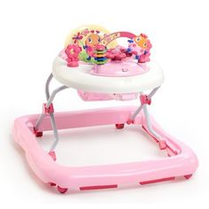 Andaderas para Niñas Caminador para Bebe con Juguetes, Rosita Juneberry NEW. The Pretty in Pink JuneBerry Delight Walk-A-Bout from Bright Starts is playfully pink and perfect for your baby girl. Activities For Girls, Infant Activities, Pretty In Pink, Baby Items For Sale, Baby Bouncer, Electronic Toys, Baby Disney, Baby Gear, Baby Toys