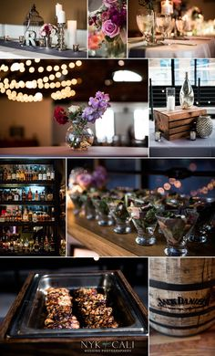 Nyk + Cali Wedding Photography | Nashville, TN | The Bell Tower | Wedding | Details | Reception | Flowers | Food | Table | Maroon | Purple | Silver | Elegant | Romantic |