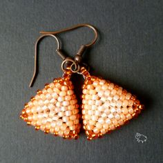 earrings: toho beads :)