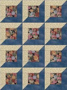 Risultato immagine per 12 Simple Quilt Block Patterns