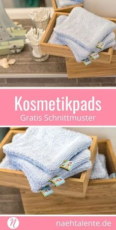 Geniales Recycling: Waschbare Kosmetikpads aus Stoff Nähe aus Baumwollstoffen, einem alten Bademantel oder Stoffwindeln diese genialen Kosmetikpads. Sie sind waschbar und belasten nicht die Umwelt. Gratis PDF-Schnittmuster & Nähanleitung in Deutsch. ✂️ Nähtalente - Magazin für kostenlose Schnittmuster ✂️ #nähen #freebook #schnittmuster #gratis #nähenmachtglücklich #freesewingpattern #handmade #diy