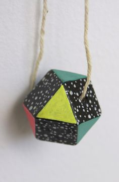 Tiny Universe Necklace 3 by Shen Plum on Little Paper Planes $25