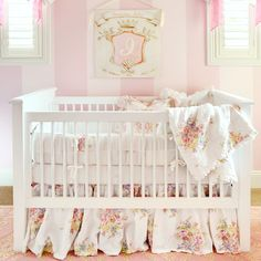 Bella Notte Linens Gwen Patchwork Crib Bedding Set #nursery #babybedding @Layla Grayce
