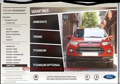 Ford EcoSport Variants In India