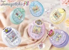 Tamagotchi Ps (developed from nineties hit; now sending messages and conncting to to other Tamagotchies)
