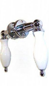Maçaneta Porcelana Alavanca