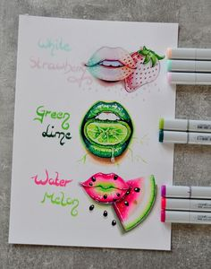 Fruit Lips by Lighane
