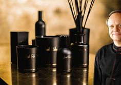Joël Robuchon Launches a Line of Home Fragrances