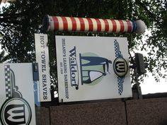 """Waldorf"", barber shop sign, Westmoreland Street, Dublin, Ireland"