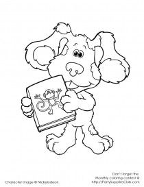 clue board game coloring pages   Bear in the big blue house   Kids Colouring Pages ...