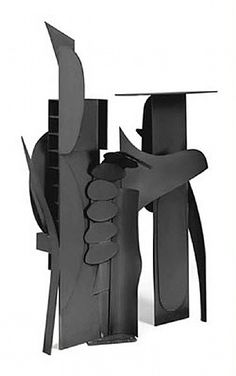 Tropical Fire V, Louise Nevelson.  Art Experience NYC  www.artexperiencenyc.com