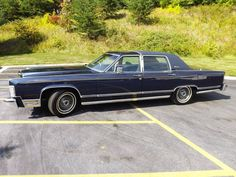 1979 Lincoln Continental Collectors Series Town Car