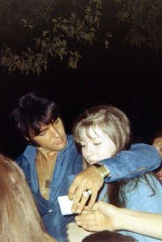 Elvis and Donna Lewis