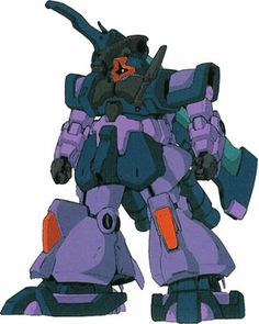 """The MS-09F/Gb Dom Gross Beil (""""Gross Beil"""" is German for """"Big Axe"""") is a Rick Dom variant featured in the SD Gundam series of video games."""