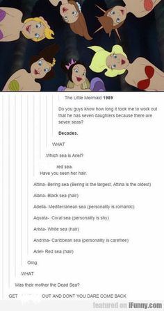 New Quotes Disney Funny Hilarious Ariel 21 Ideas Humour Disney, Funny Disney Memes, Funny Memes, Hilarious, Funny Videos, Top Funny, Funny Tweets, Stress Humor, The Killers