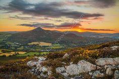 Sunset, The Great Sugar Loaf, Wicklow, Ireland. www.MartinBakerPhotography.com