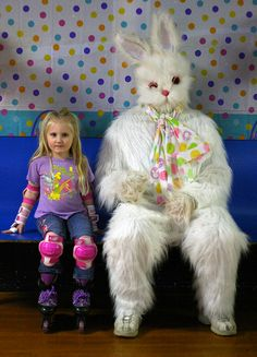 I think the Easter Bunny has just given up.