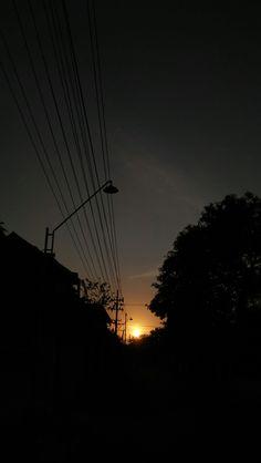 Fajar menyapamu :) Shadow Photography, Tumblr Photography, Sunset Photography, Iphone Background Wallpaper, Scenery Wallpaper, Phone Backgrounds, Pretty Sky, Beautiful Sky, Aesthetic Backgrounds