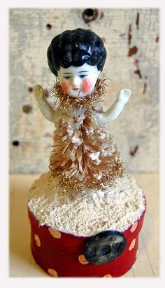 Doll Tree ON A Box | Flickr - Photo Sharing!