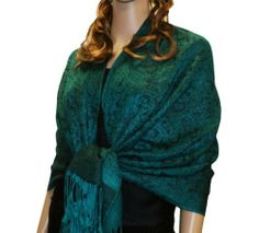 Fabulous Large Soft 100% Pashmina Paisley Scarf Shawl Wrap (75 Colors to choose) (Forest 73) NYfashion101,http://www.amazon.com/dp/B00B6EATZA/ref=cm_sw_r_pi_dp_2Q07sb1S19DFY2HS