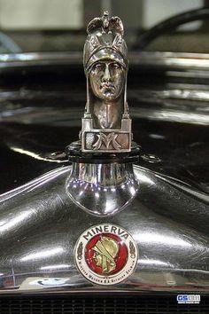 Re- pin brought to you by at Ornaments (Mascots) Car Badges, Car Logos, Minerva Car, Logo Autos, Vintage Cars, Antique Cars, Car Bonnet, Truck Detailing, Car Hood Ornaments