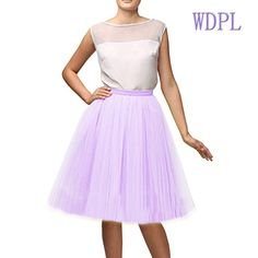 Wedding Planning Women's A Line Short Knee Length Tutu Tulle Prom Party Skirt at Amazon Women's Clothing store: