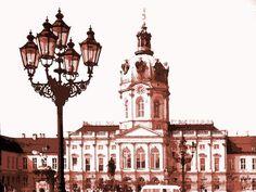 'Berlin 1979 Charlottenburger Schloss' von Dirk h. Wendt bei artflakes.com als Poster oder Kunstdruck $18.03
