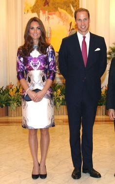 Prabal Gurung dress Singapore royal tour