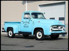 1955 Ford F100 Pickup 239 CI, 4-Speed