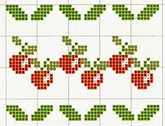 1 million+ Stunning Free Images to Use Anywhere Kawaii Cross Stitch, Cross Stitch Fruit, Cross Stitch Kitchen, Cute Cross Stitch, Cross Stitch Borders, Cross Stitch Charts, Cross Stitch Designs, Cross Stitching, Cross Stitch Embroidery