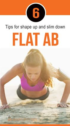 6 Tips for Flat Abs. #weight_loss