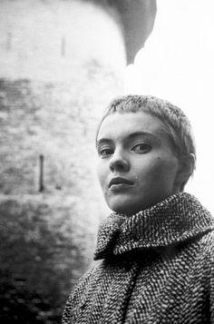 Jean Seberg photographed by Jack Garofalo, 1958