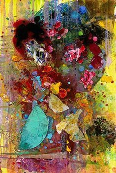 Euforie Fine Art Print Giclee op doek door Tracey Chikos 40