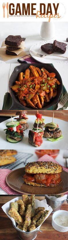 Over 22 Healthy Game Day Recipes (gluten-free, dairy-free, paleo-friendly)