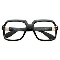 6b82c55d470 Old School Hip Hop Run DMC Style Square Vintage Square Glasses 2981 80s Hip  Hop