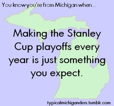 hockey in michigan Michigan Travel, State Of Michigan, Detroit Michigan, Detroit Lions, Michigan Facts, Red Wings Hockey, The Mitten State, Detroit Sports, Go Blue