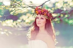 Queen of The Forest: A Whimsical Woodland Bridal Shoot Yes.
